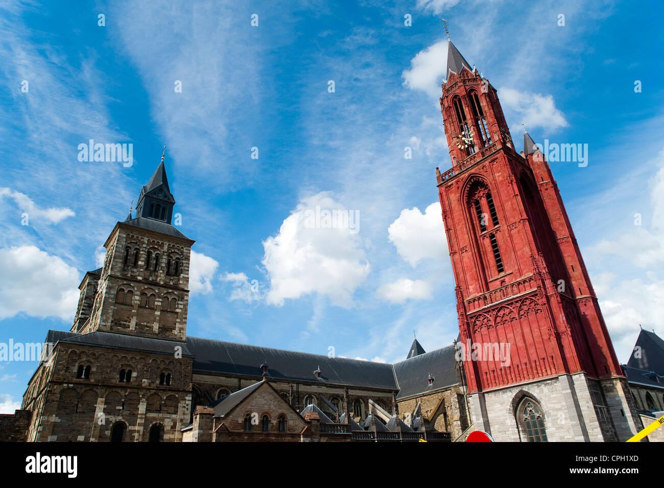 Saint servatius and st john churches maastricht the netherlands stock photo royalty free - Maastricht mobel ...