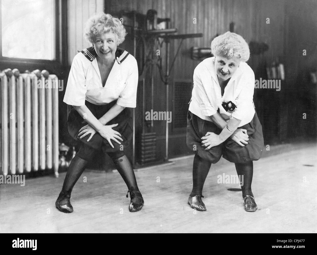 Ladies dancing old russian ladies