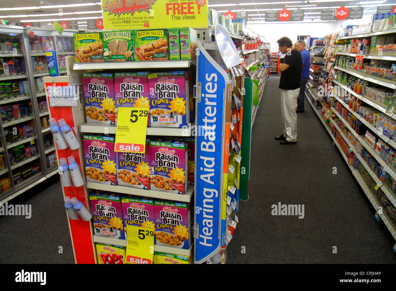 r stock photos r stock images alamy miami beach florida walgreens pharmacy drugstore business retail display shelves packaging for aisle cereal