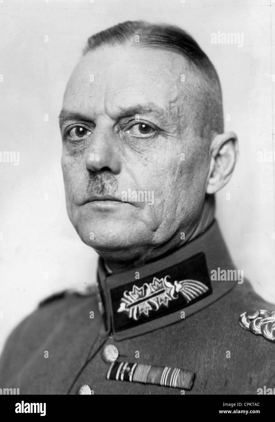 General Gerd von Rundstedt Stock Photo, Royalty Free Image