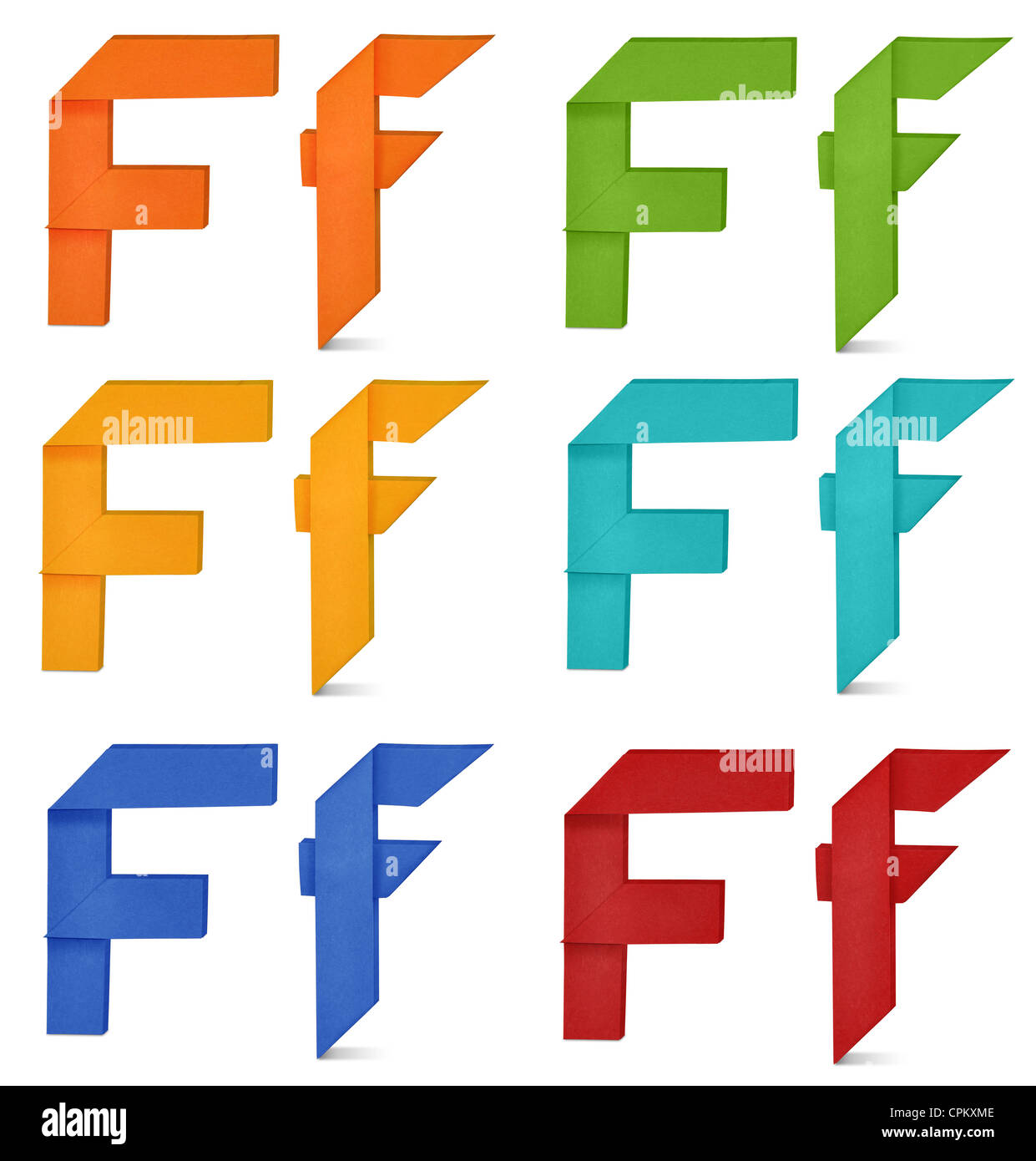 """Set of capital letter and lowercase letter """"F"""" in various ... - photo#23"""
