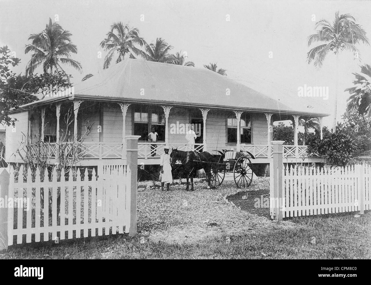 House of a german colonial official in apia in samoa 1904 for German colonial house
