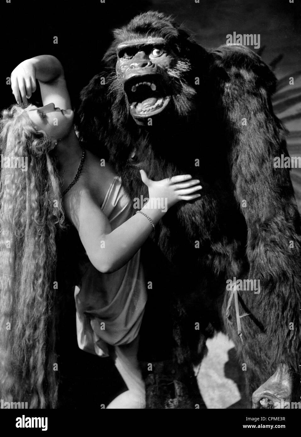 Fay Wray in King Kong 1933 Stock Photo Royalty Free Image