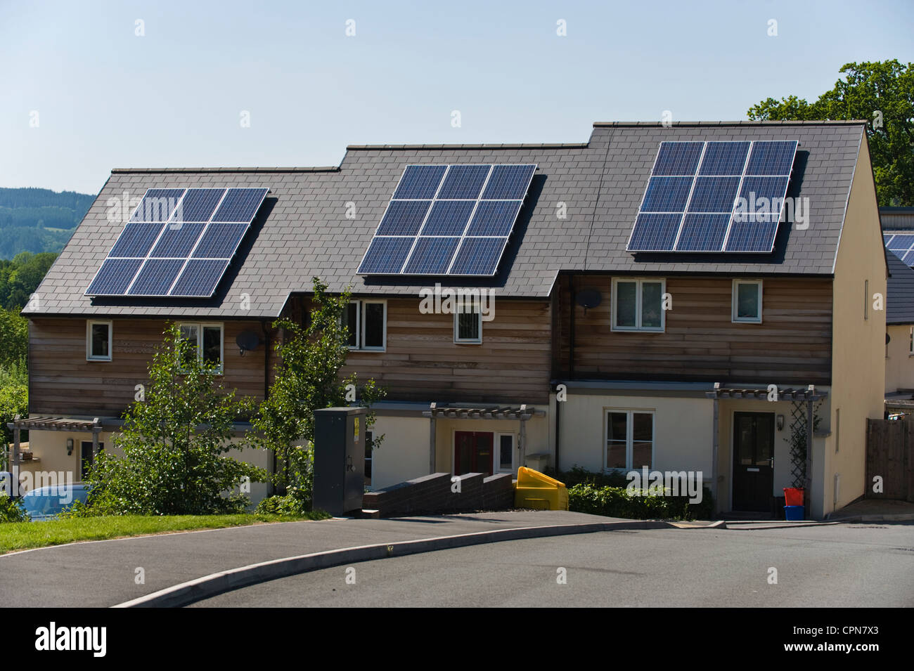 New Homes With Solar Panels