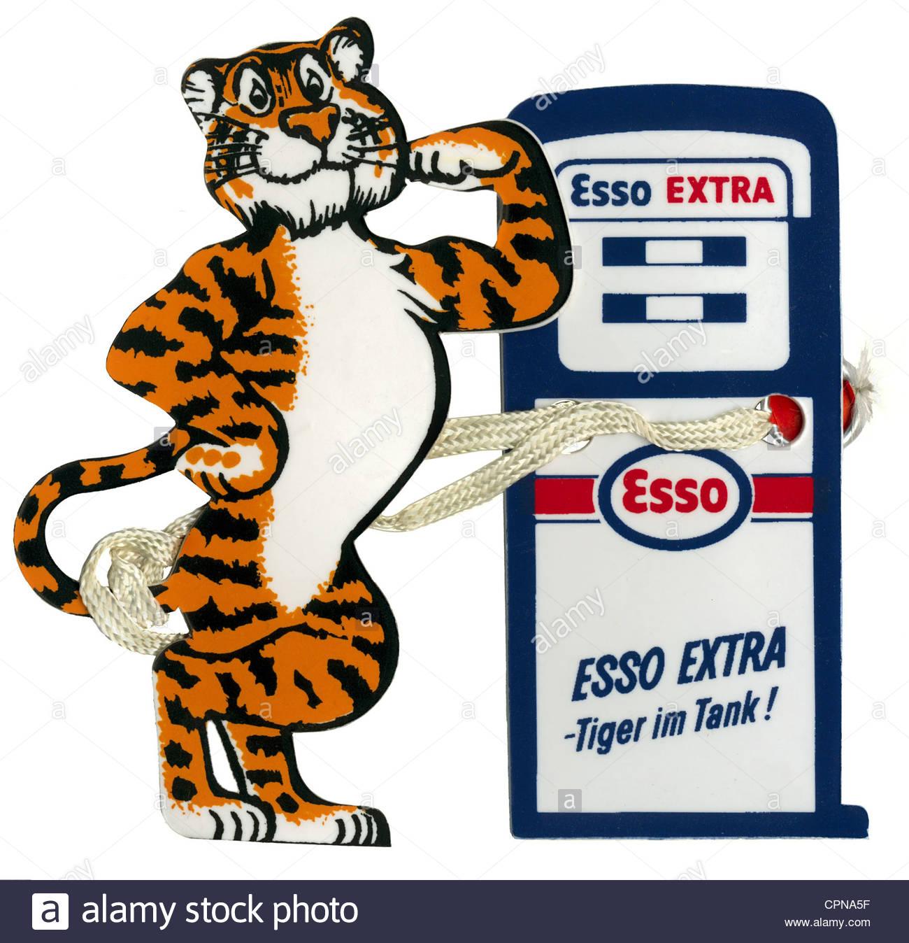 Image Gallery esso tiger