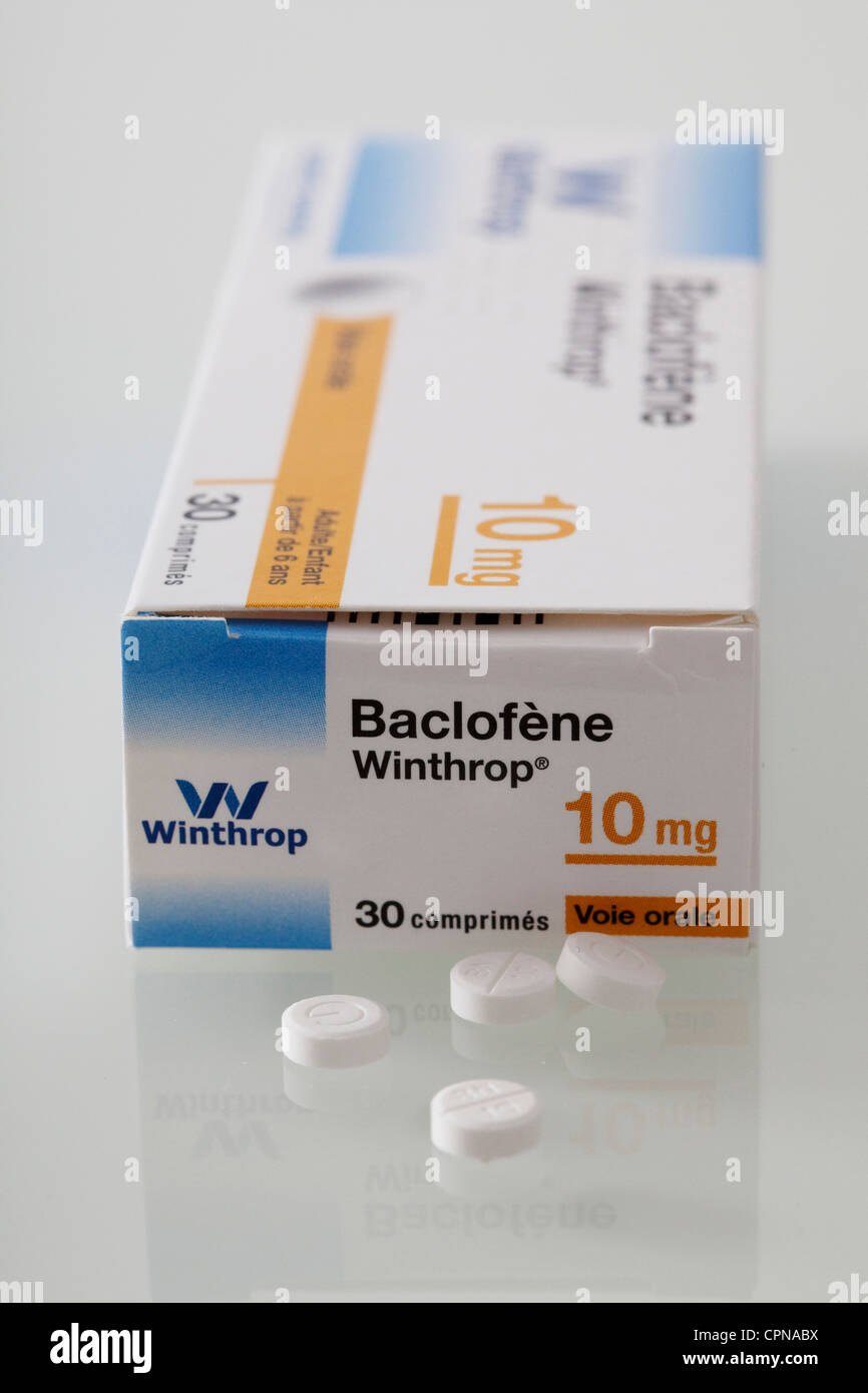 BACLOFEN Stock Photo, Royalty Free Image 48412334  Alamy ~ Baclofen Dosage