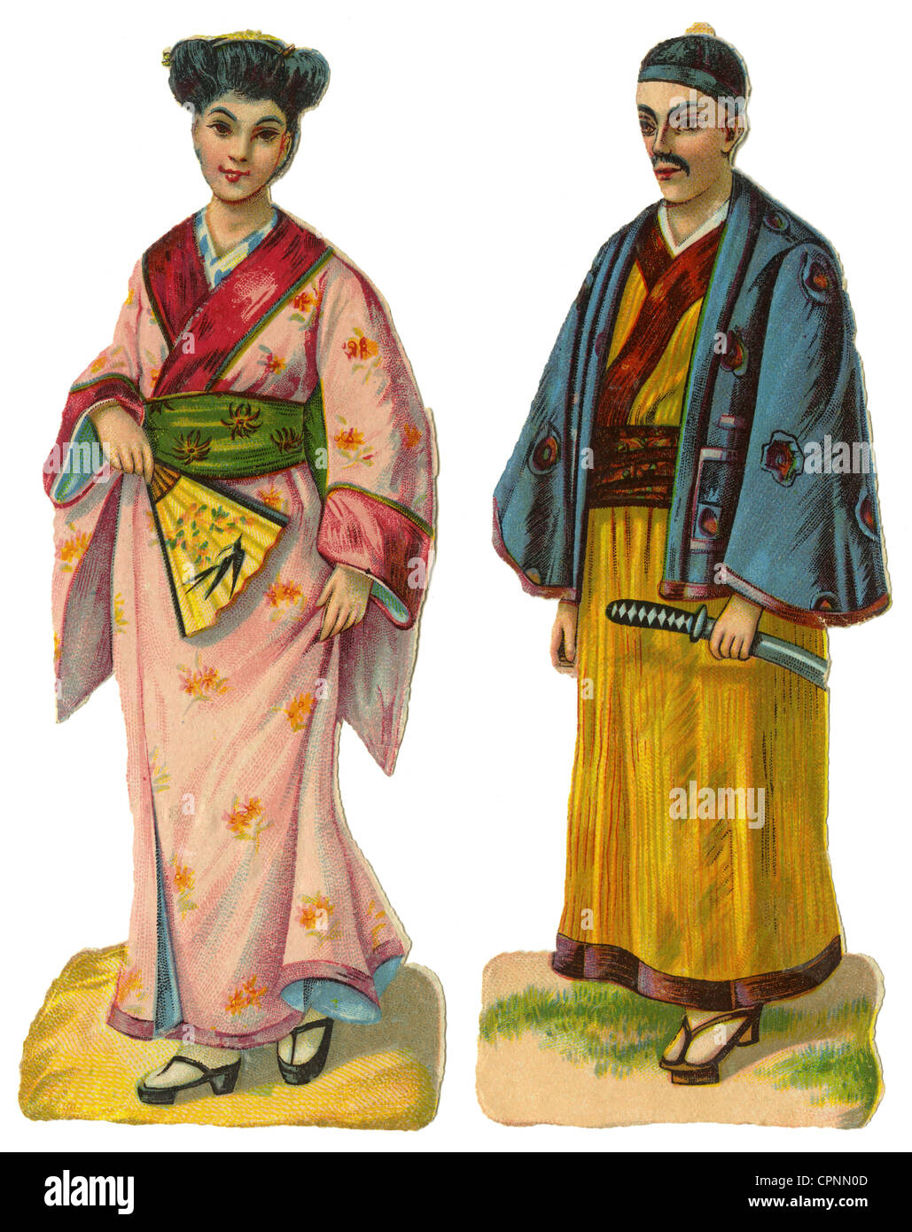 geography / travel, Japan, people, traditional Japanese ...
