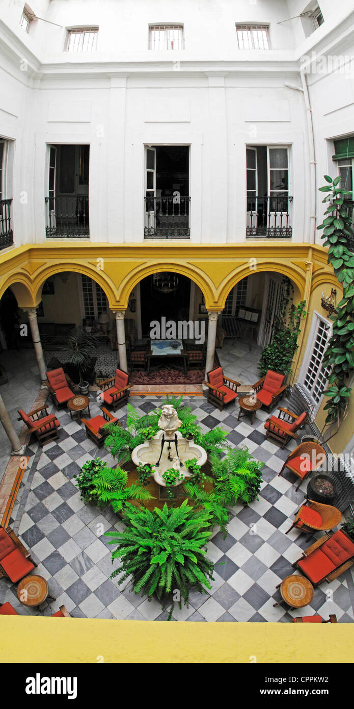 Hotel Simon Spain Andalusia Seville Hotel Simon Spanish Andalusian Courtyard