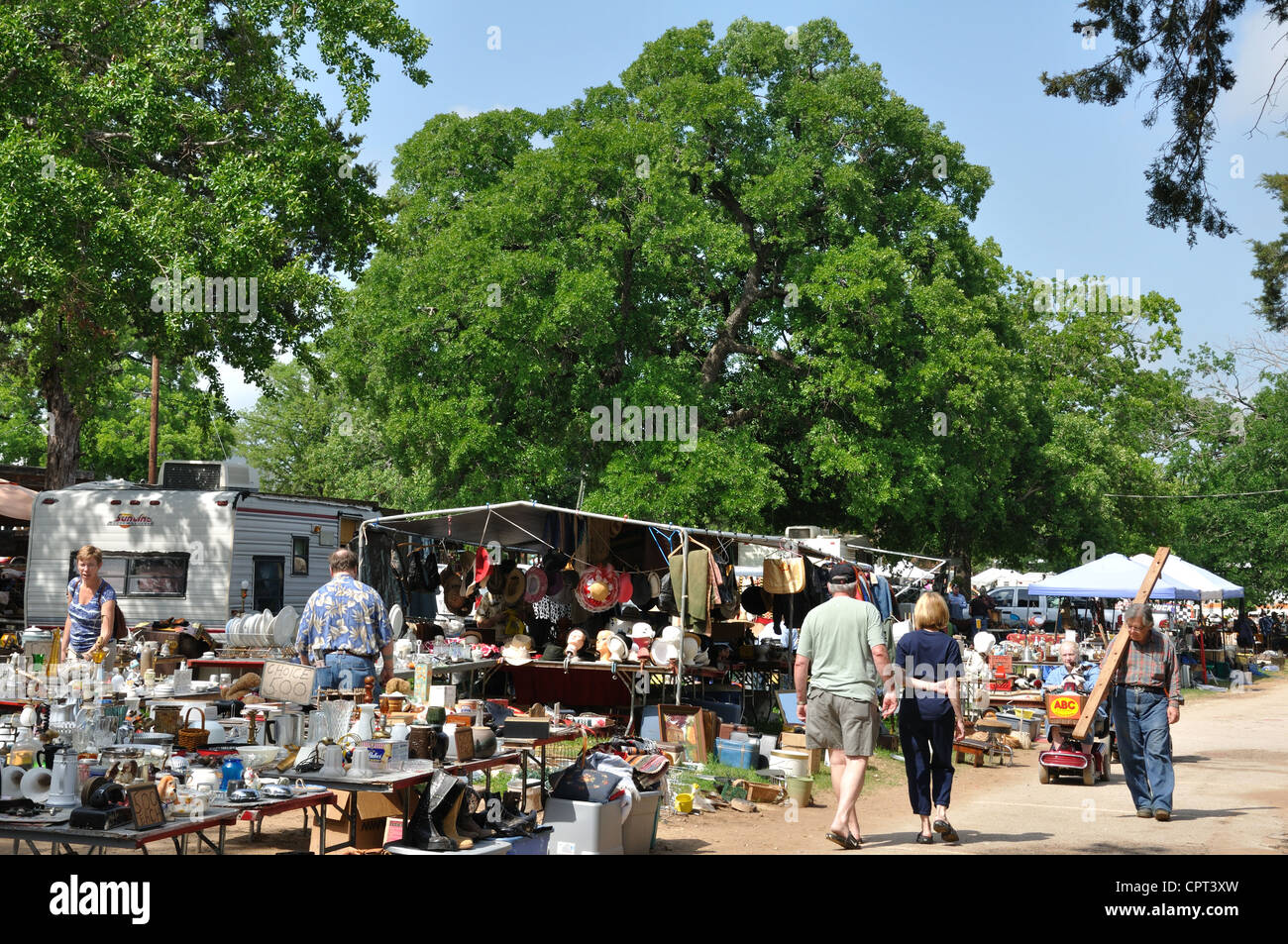 first monday trade days flea market in canton texas usa oldest stock photo 48473121 alamy. Black Bedroom Furniture Sets. Home Design Ideas