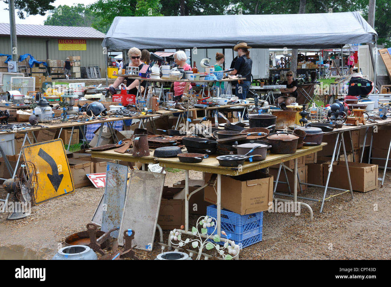 first monday trade days flea market in canton texas usa oldest stock photo 48473249 alamy. Black Bedroom Furniture Sets. Home Design Ideas