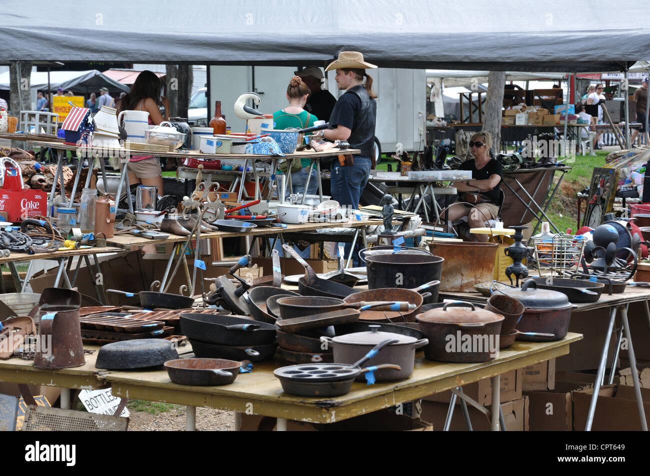 First Monday Trade Days Flea Market In Canton Texas Usa