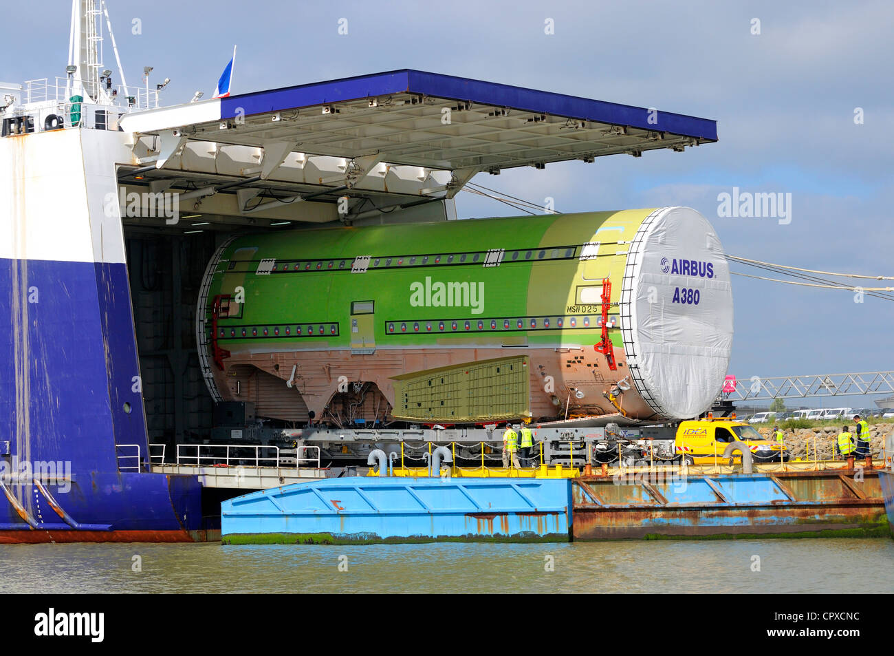 France loire atlantique nantes saint nazaire autonomous port roll on stock photo royalty free - Port autonome de nantes saint nazaire ...