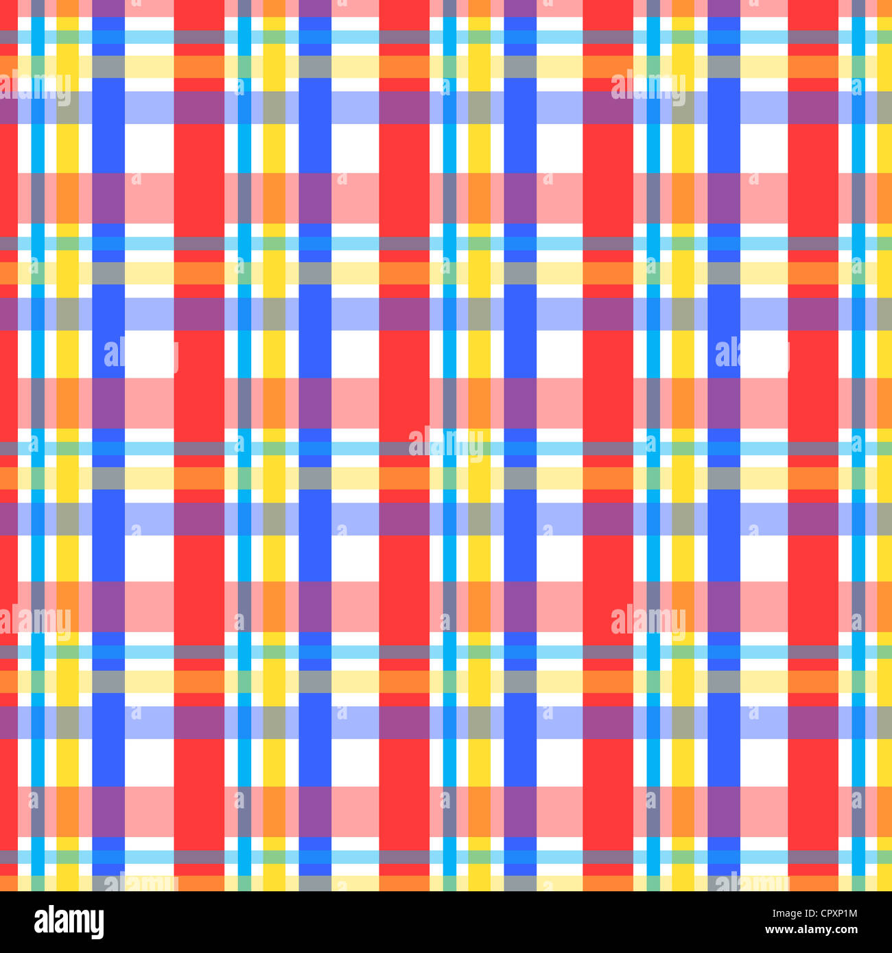 plaid pattern in red blue and yellow colors stock photo royalty free image 48531216 alamy. Black Bedroom Furniture Sets. Home Design Ideas