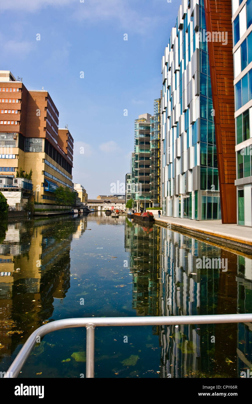 Modern Architecture London England modern architecture along regent's canal at paddington basin