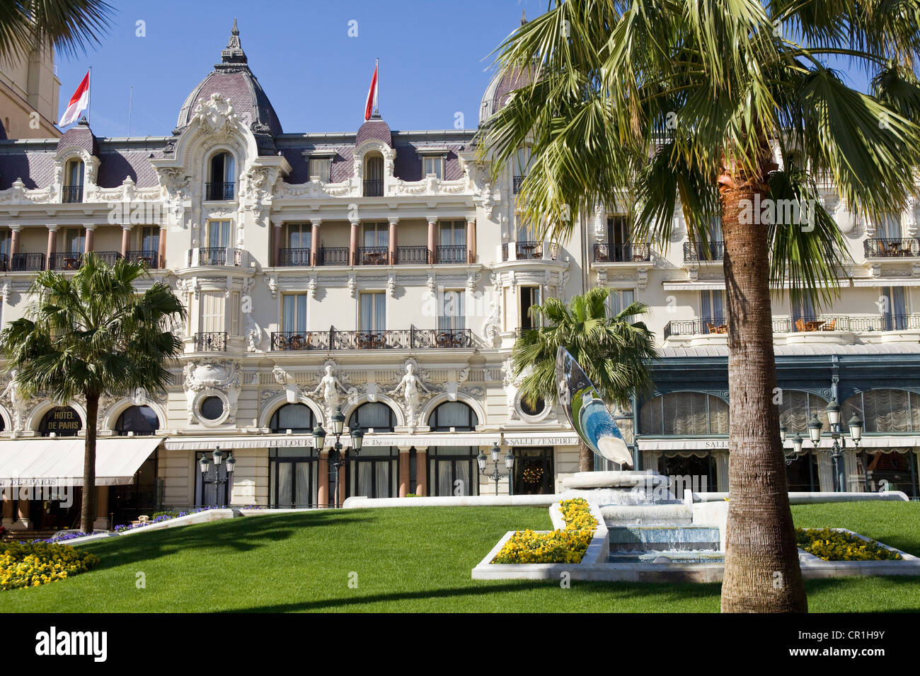 Principalty of monaco monaco monte carlo hotel de paris for Paris hotel des bains