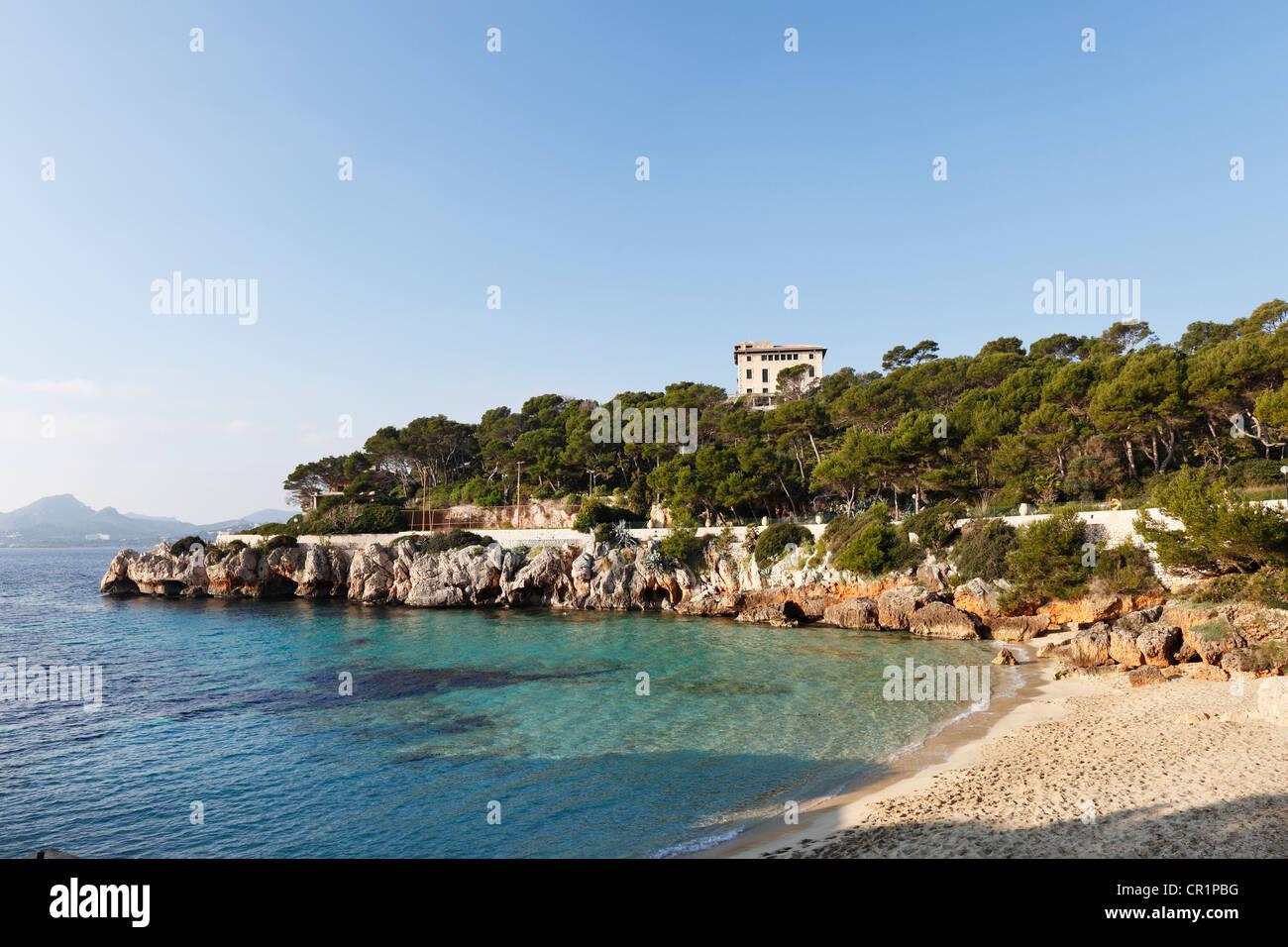 Villa March, Cala Gat, Cala Ratjada, Majorca, Balearic Islands Stock Photo, R...