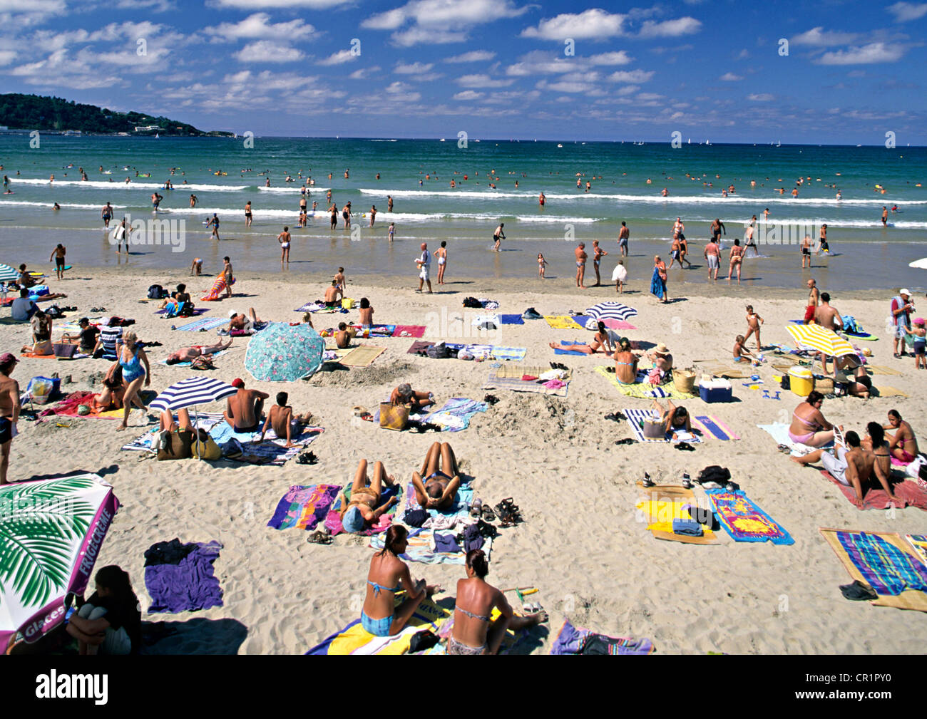 France pyrenees atlantiques pays basque hendaye beach for Hendaye france