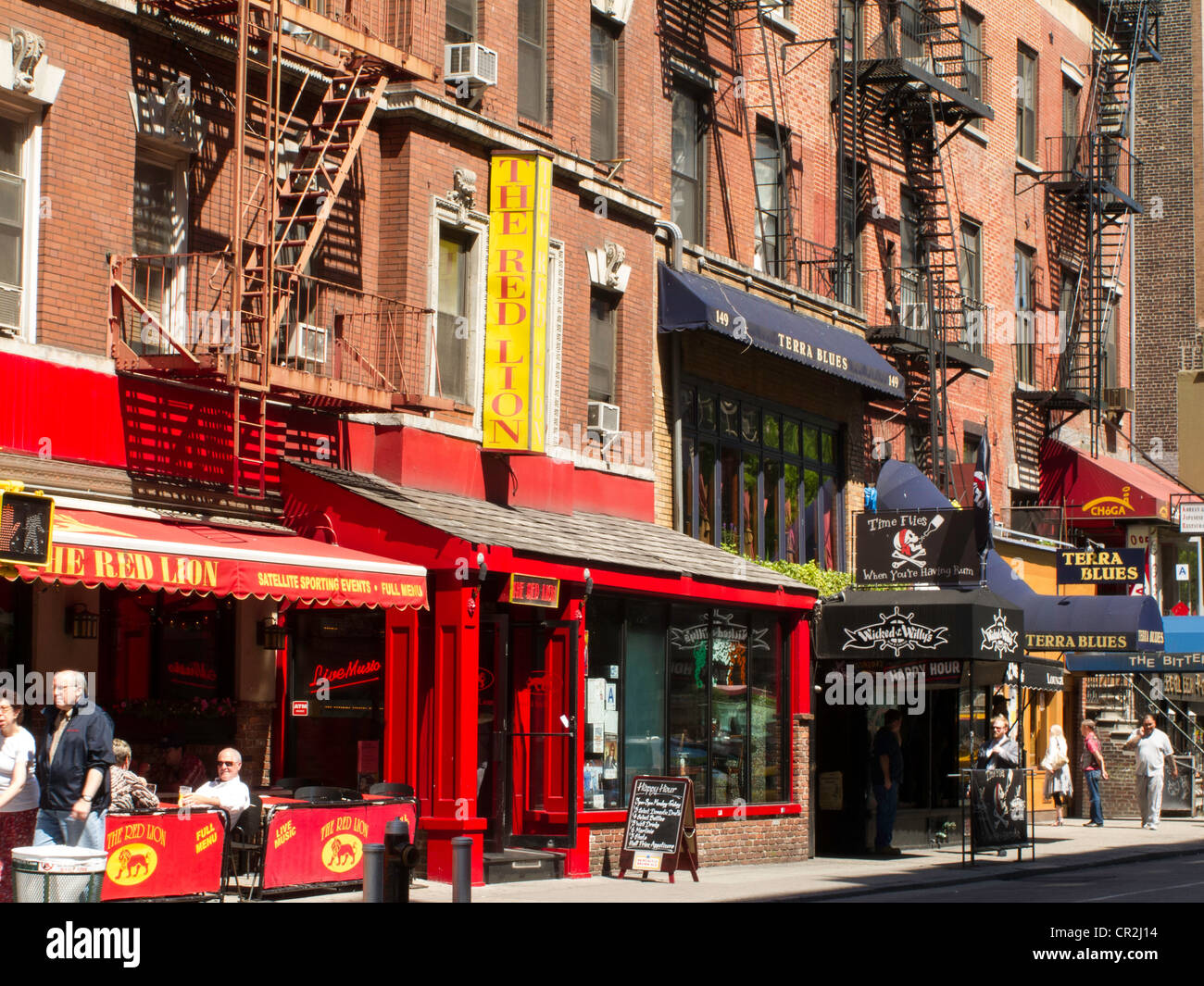 Red Lion Cafe Nyc