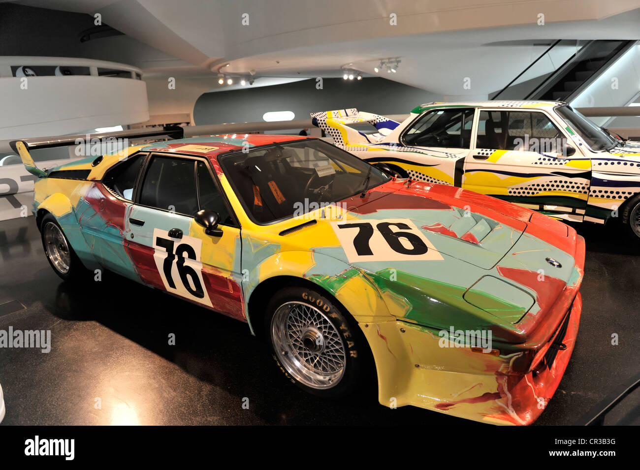 Bmw art cars bmw m1 of 1979 by andy warhol bmw 320i of for Roy motors used cars