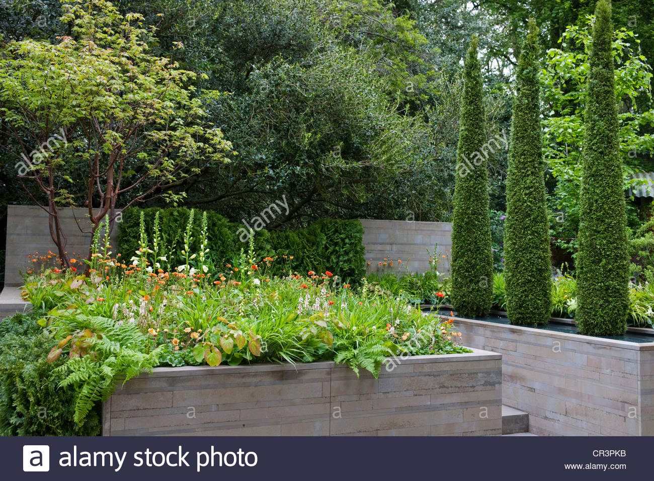 High Quality Stock Photo   The APCO Garden (Artisan Garden) By Willmott Whyte A RHS  Chelsea Flower Show 2012