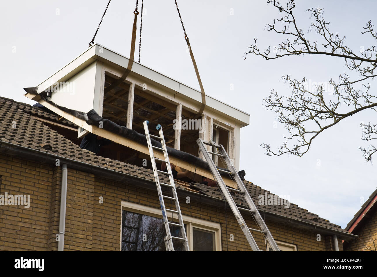 Building a dormer on a house - Placing New And Bigger Dormer Window On Front Side Of House