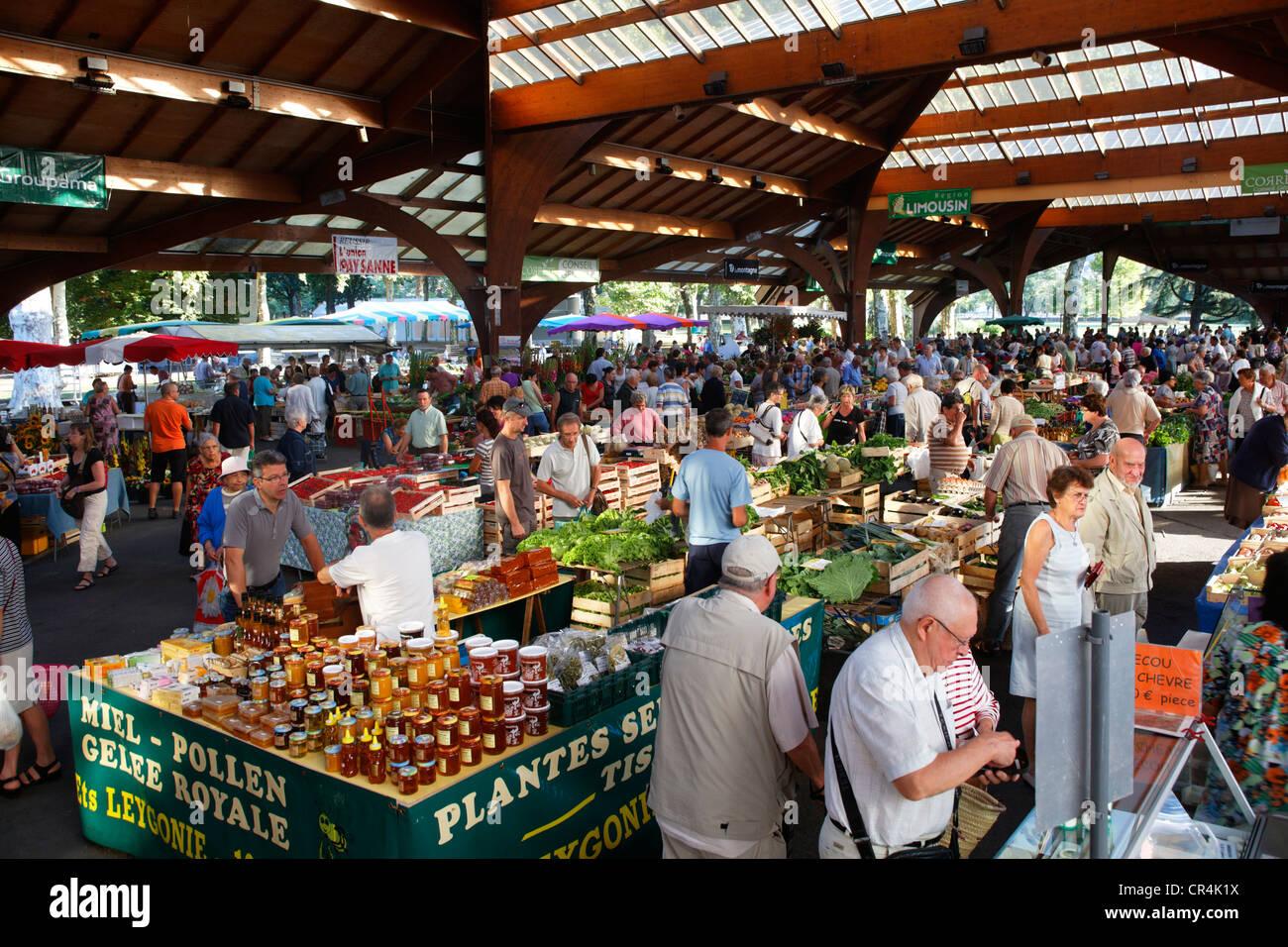 Market georges brassens hall town of brive la gaillarde for Carrelage brive la gaillarde