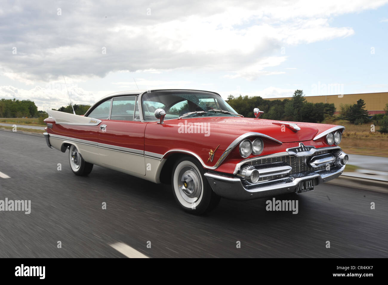 Classic Car Fins Stock Photos Classic Car Fins Stock Images Alamy