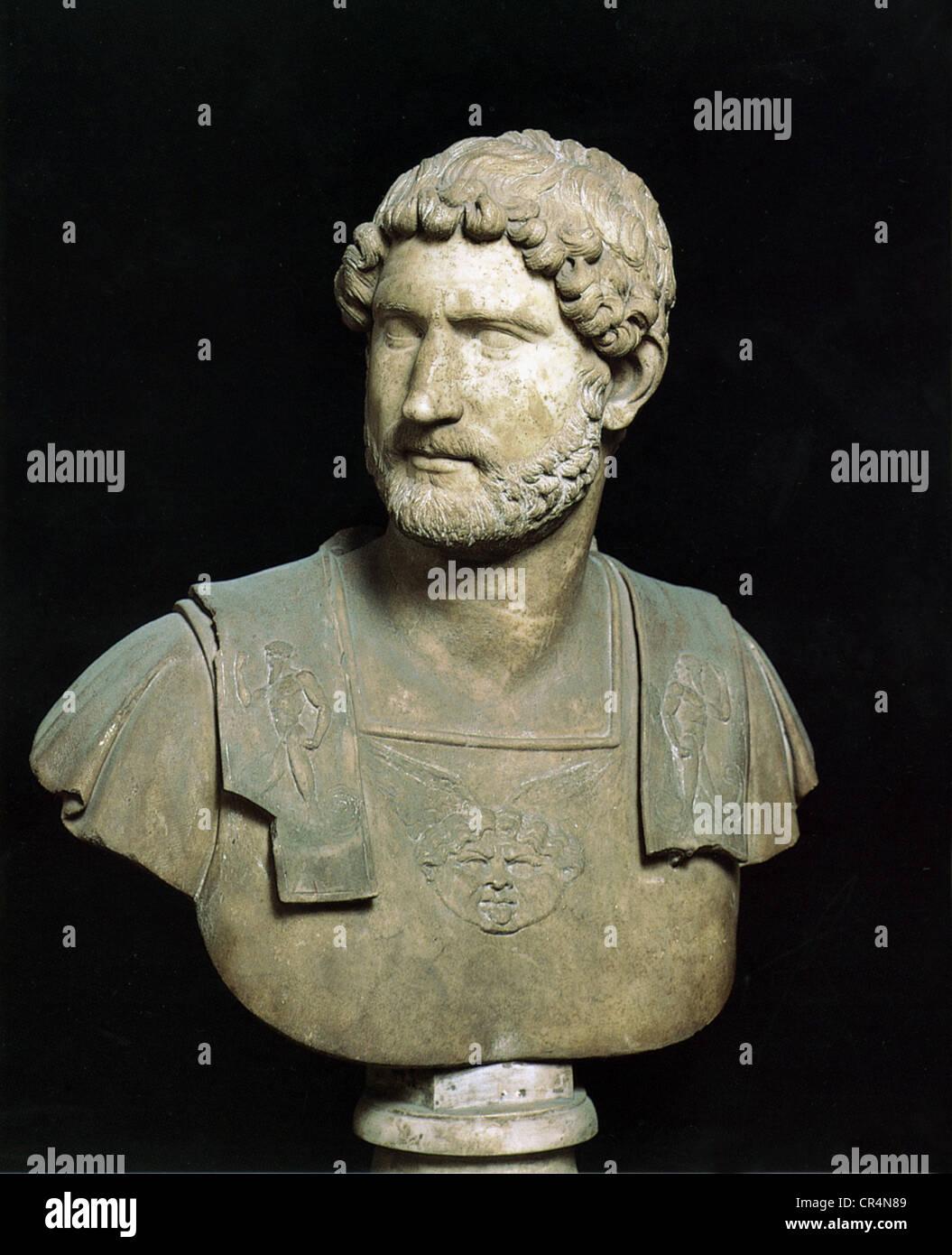 a biography of aelius hadrianus the roman emperor This biography provides detailed  hadrianus, lucilla, marcus annius verus caesar, titus aelius  commodus was a roman emperor during the early years.
