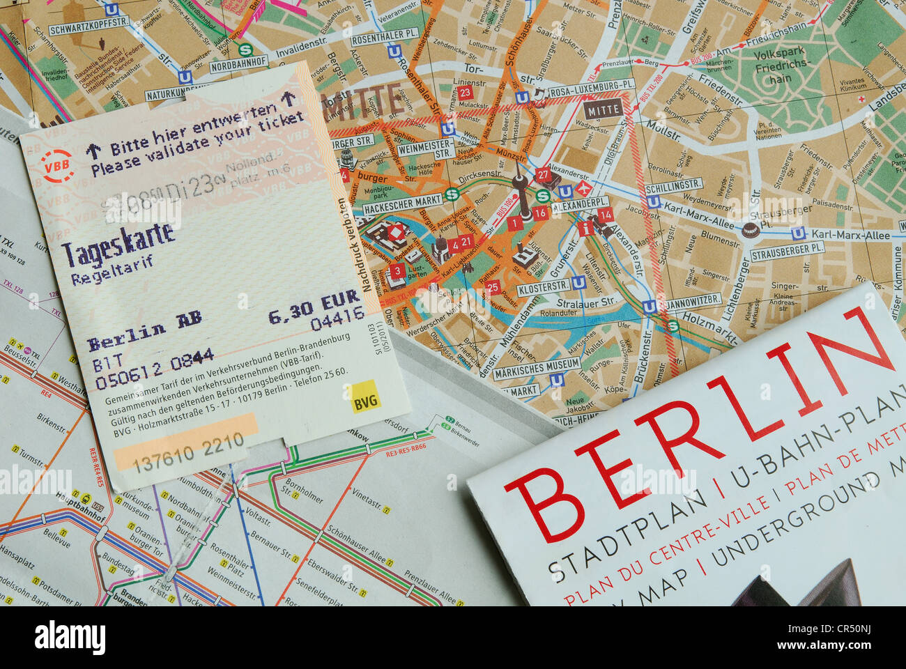 Berlin Germany Berlin City Map U Sbahn Map And Tageskarte – Germany Travel Map