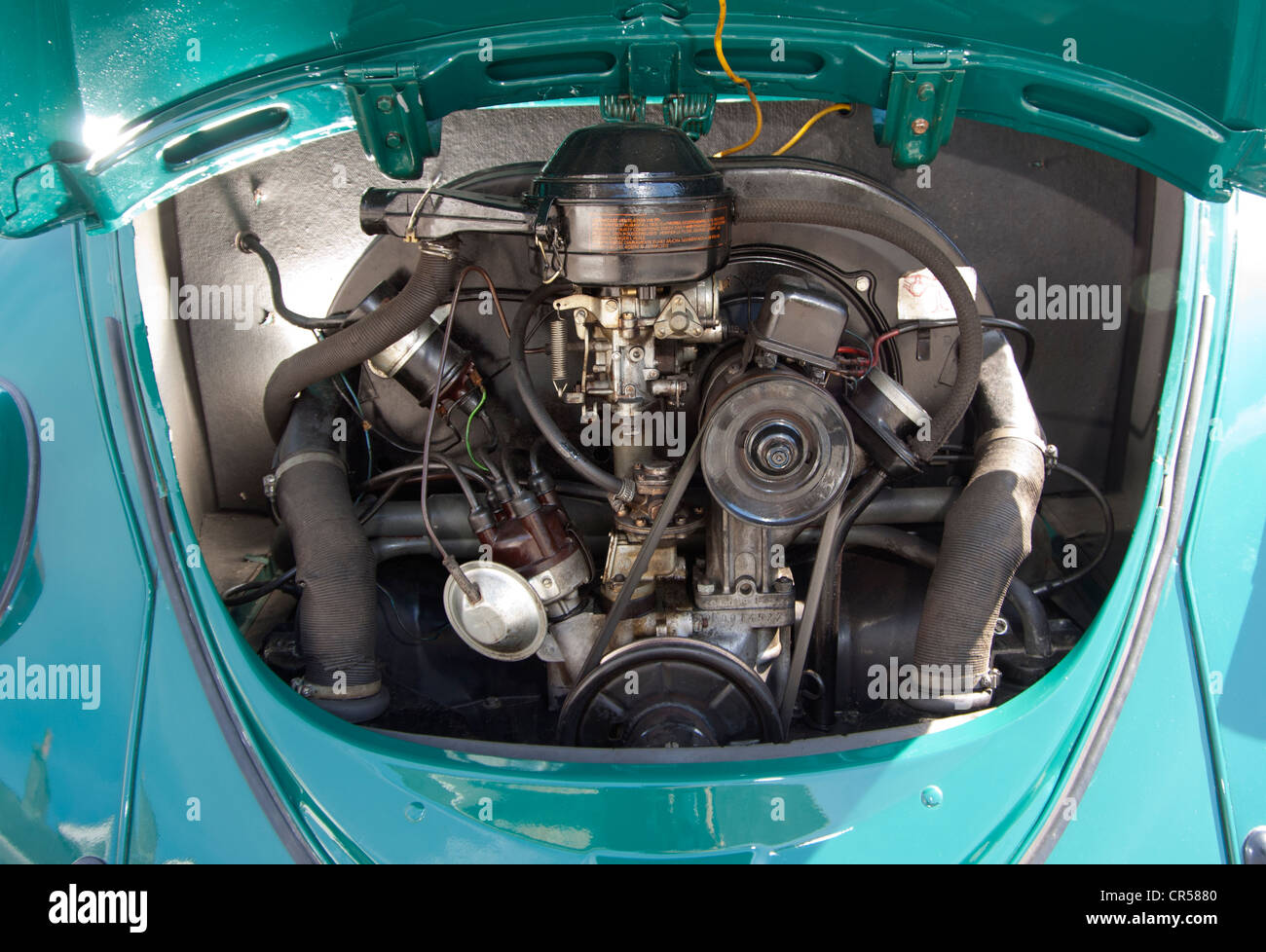 Vw Beetle Classic Volkswagen Car Rear Mounted Air Cooled