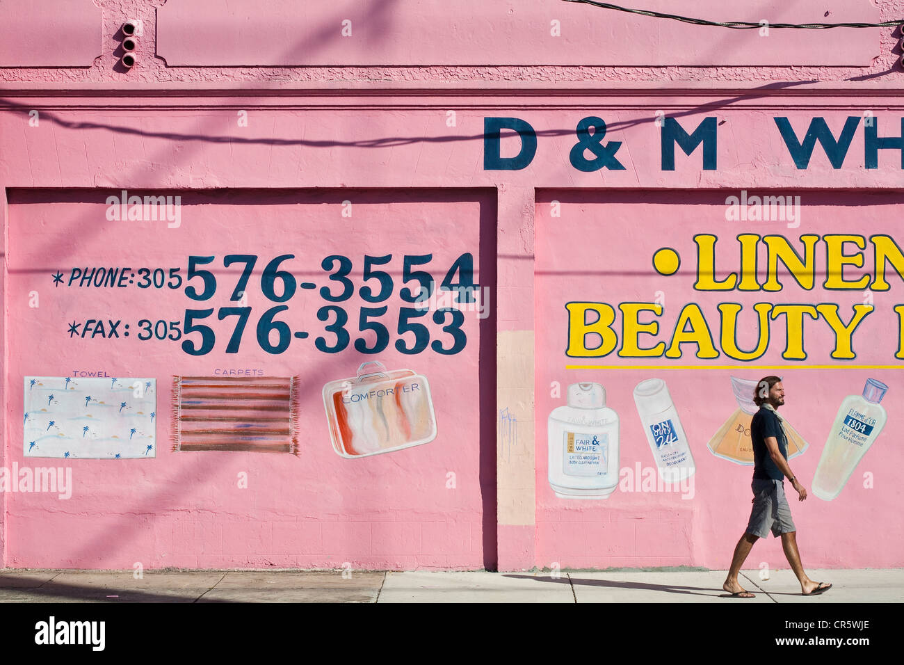 United States, Florida, Miami, Wynwood Art District, Du0026M Wholesale Shop,  Cosmetic Products And Bathroom Accessories