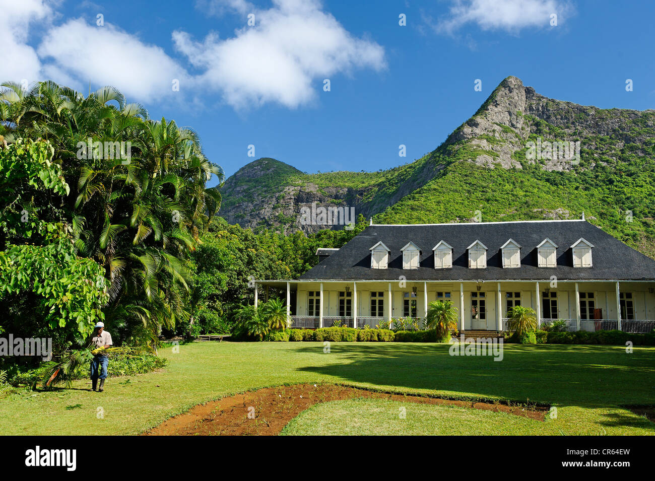 Mauritius Moka District Moka Eureka Creole House Built