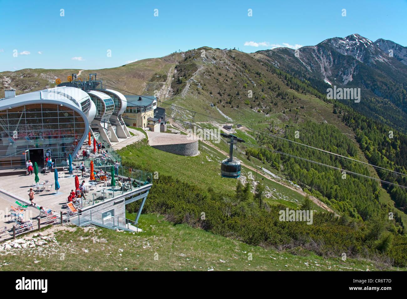 Cable Car Station On Mt Monte Baldo Monte Baldo Massif