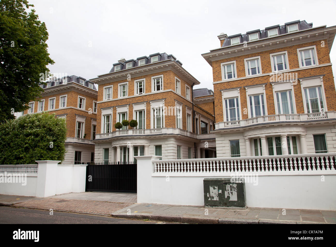 Large Houses In The Boltons In London Uk Stock Photo