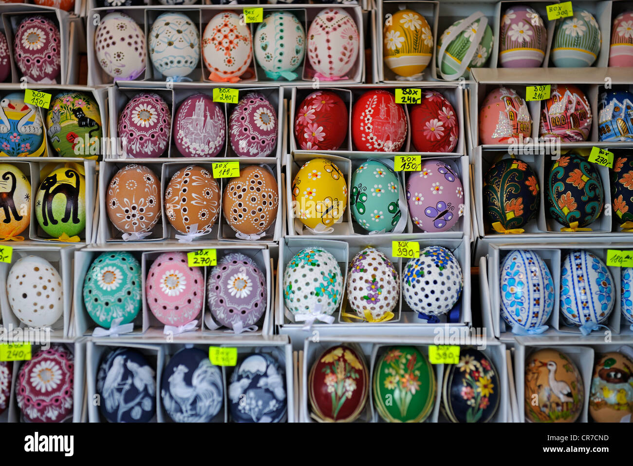 Hand Painted Easter Eggs Prague