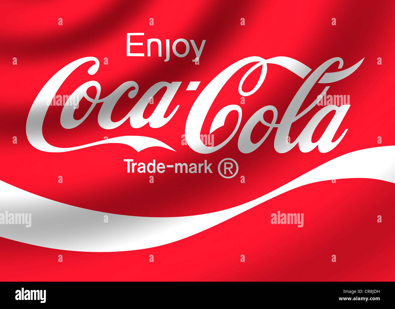 coca cola logo flag symbol stock photo royalty free image