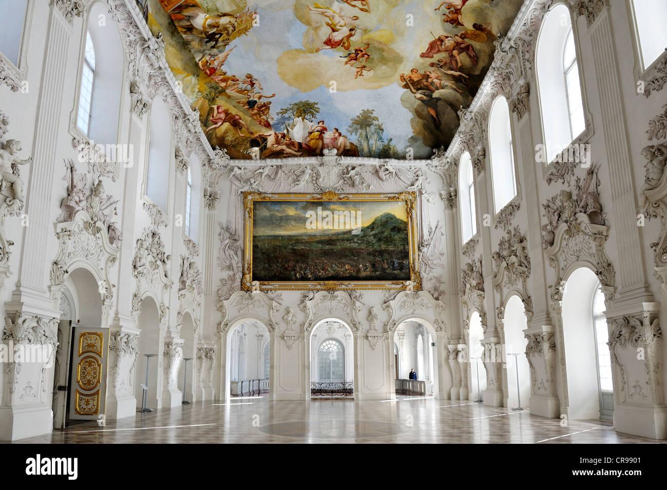 Great Hall First Floor Neues Schloss Schleissheim Palace