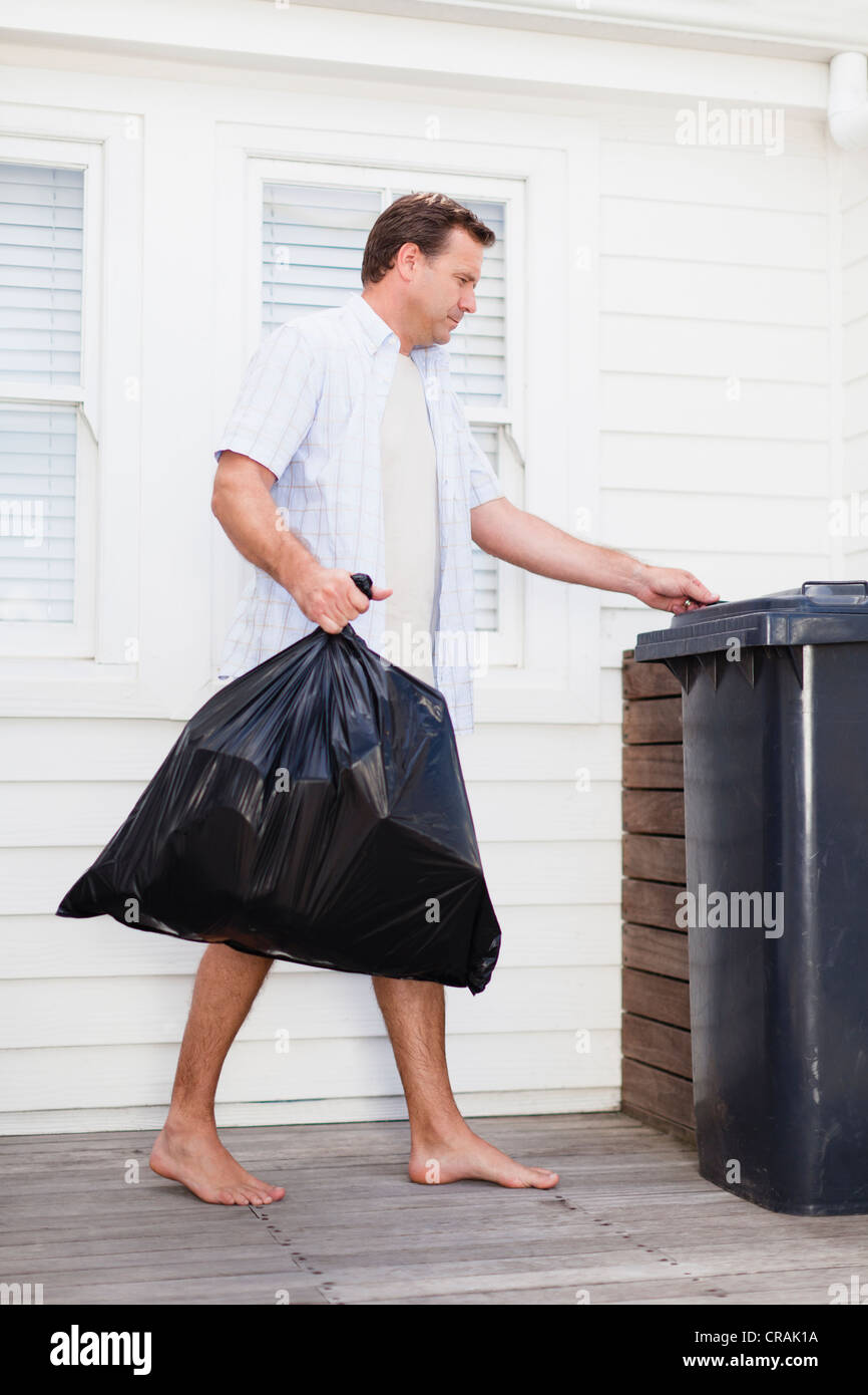 Someone Taking Out The Trash
