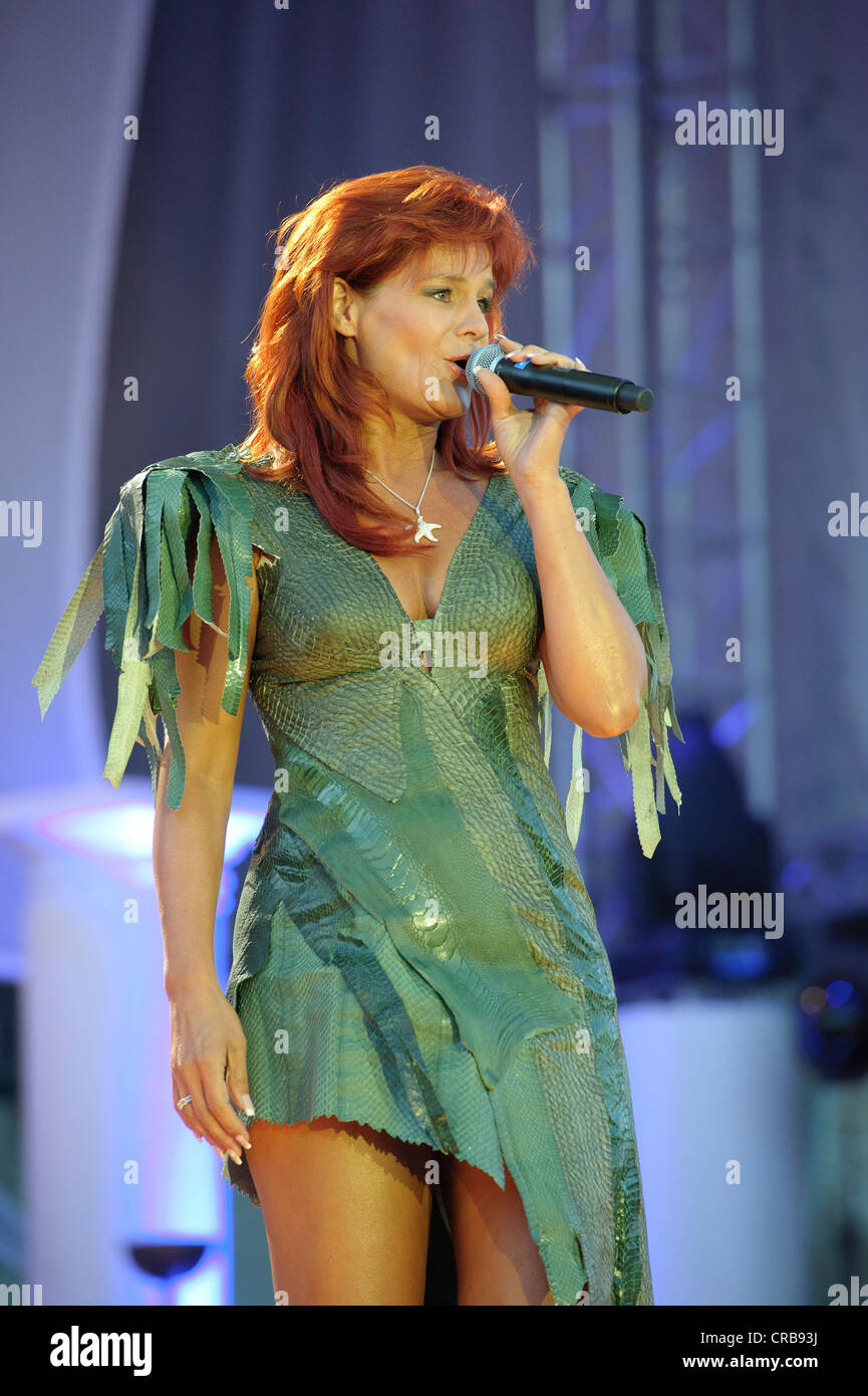 Andrea berg 2016 hd image free - Andrea Berg A German Pop Singer Performing Live At Open Air Konzert In Aspach