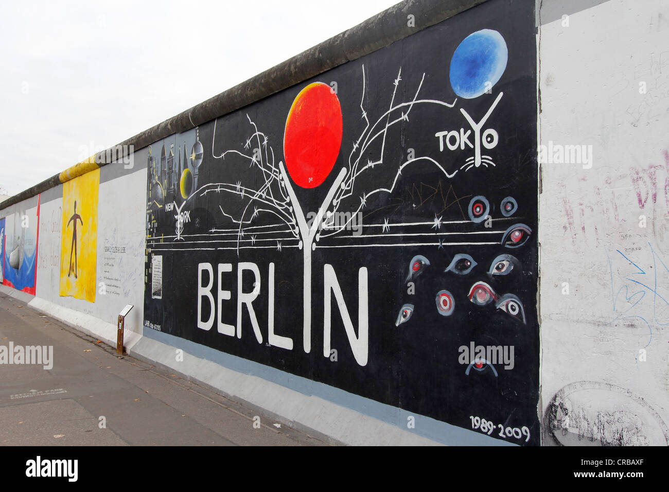 Quotberlynquot by gerhard lahr east side gallery berlin wall for Berlin wall art