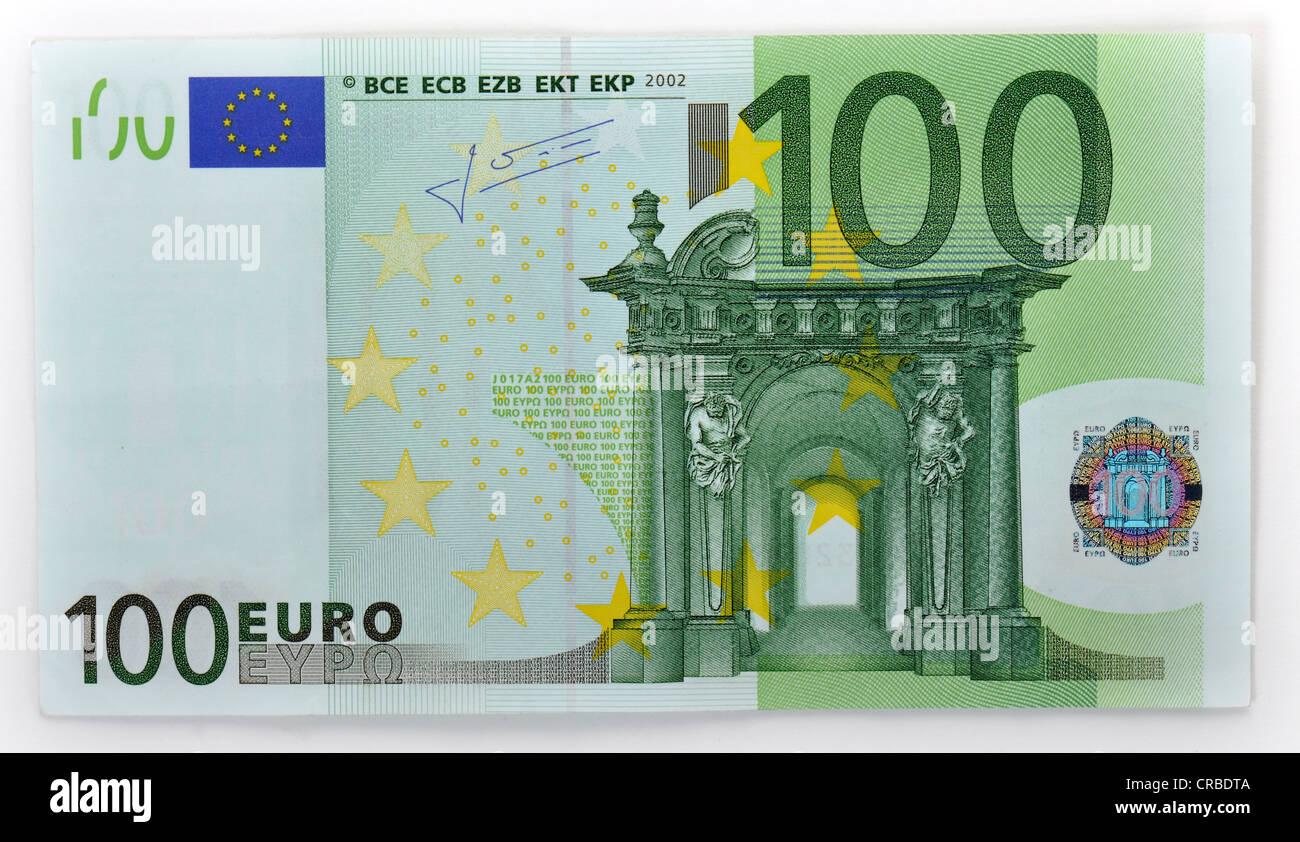 подпись на 100 евро телефоны