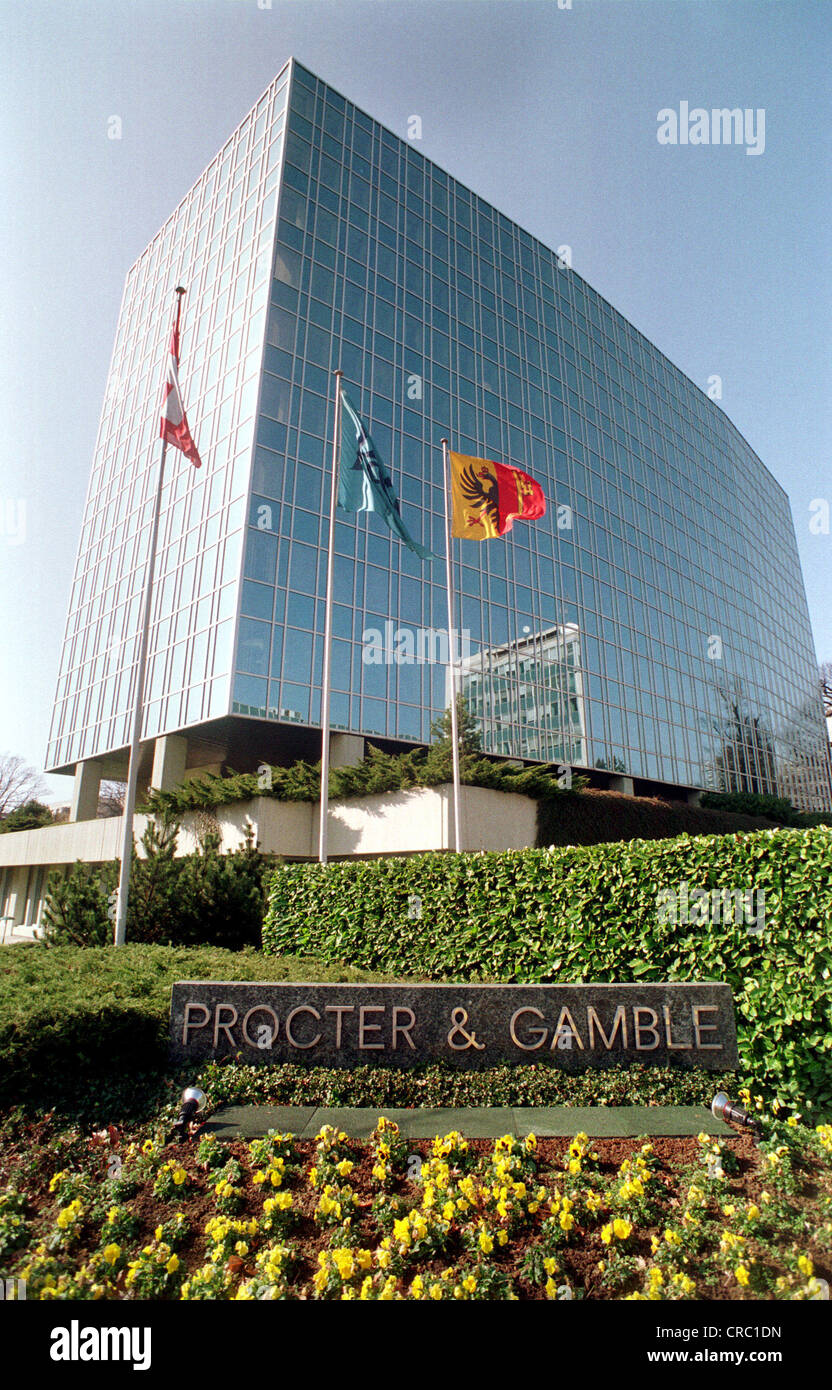 Corporation headquarters stock photos corporation headquarters corporation headquarters procter gamble in geneva switzerland stock image kristyandbryce Choice Image