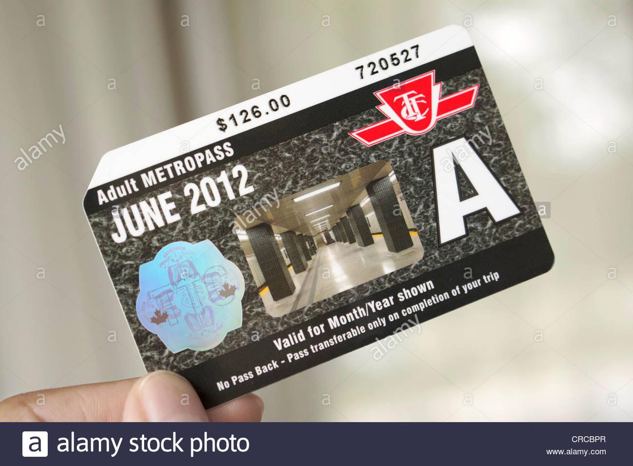 Metro Card Stock Photos & Metro Card Stock Images - Alamy