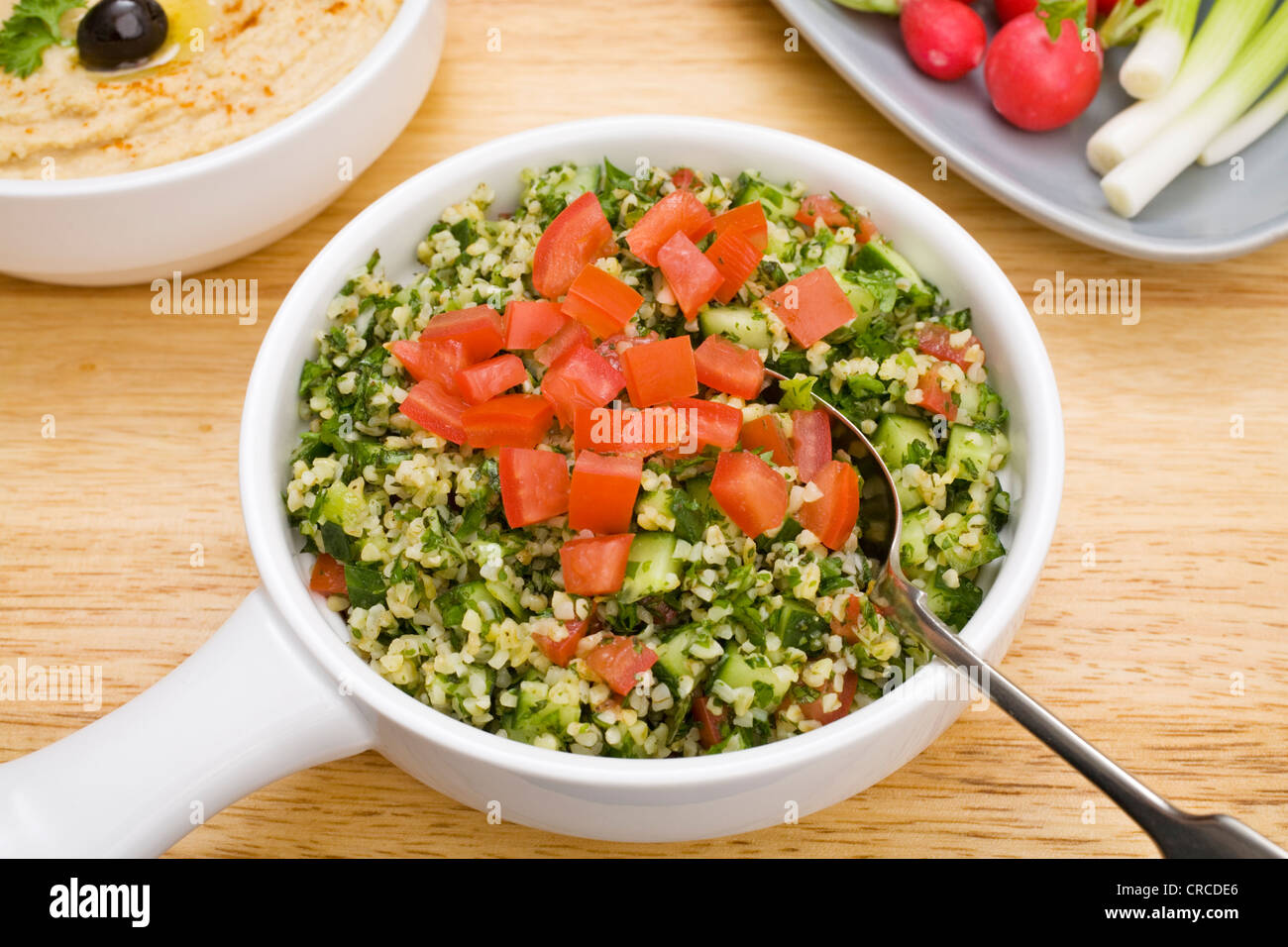 Favourite Middle Eastern salad, tabbouleh, made from ...