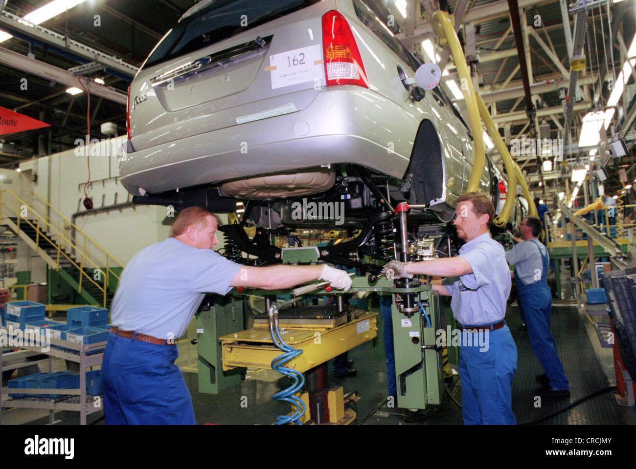 Ford werke ag the saarlouis plant stock image