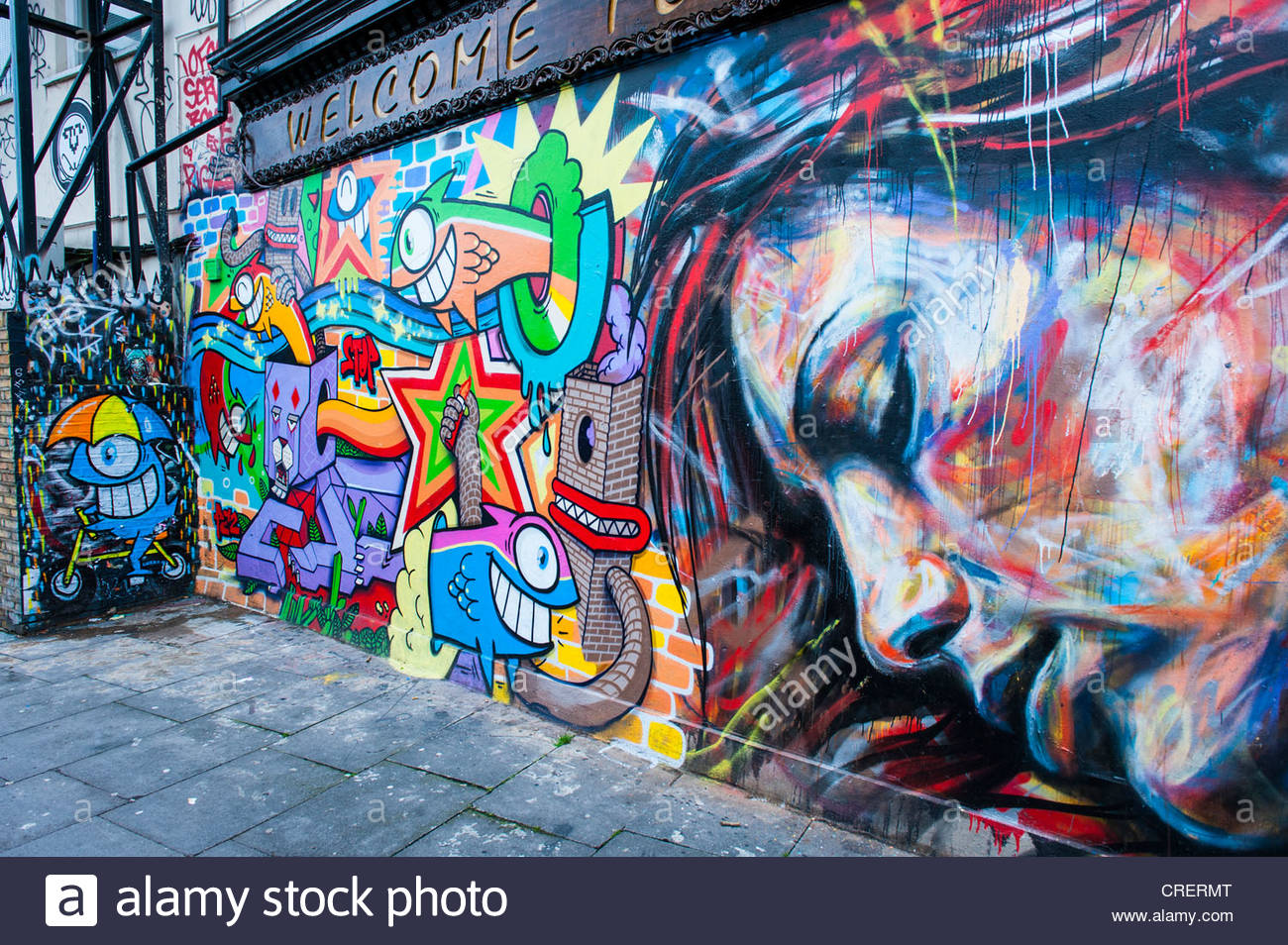The end in graffiti images galleries for A mural with an area of 18m2