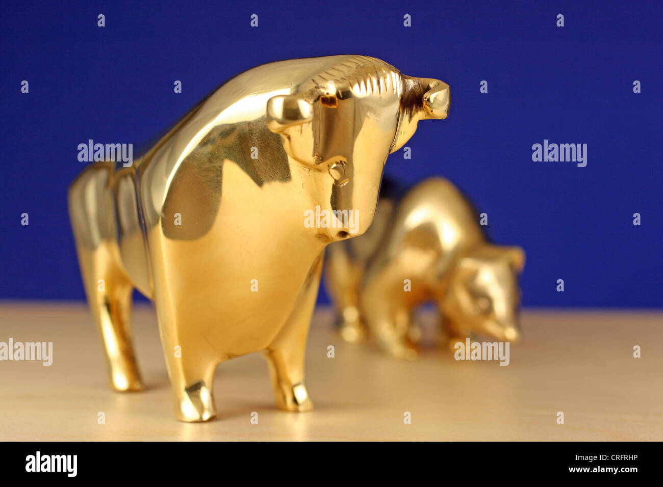 Symbol picture stock market bull and a bear stock photo royalty symbol picture stock market bull and a bear biocorpaavc Images