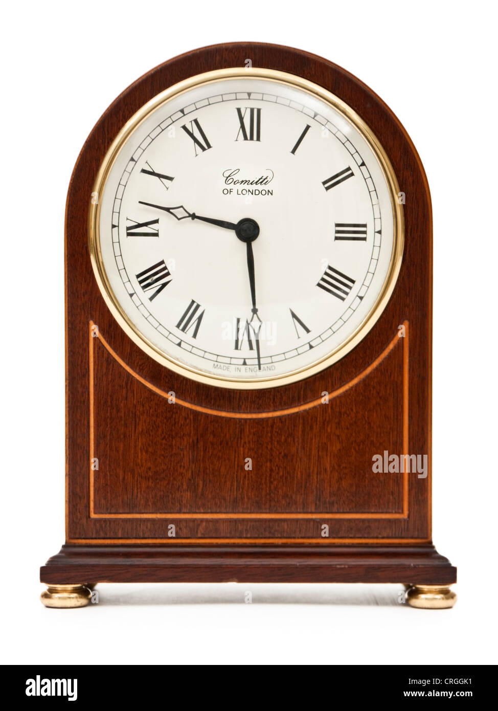 Comitti of london mantel clock stock photo royalty free image comitti of london mantel clock amipublicfo Images