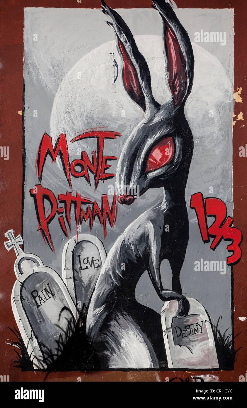 Graffiti wall dallas - Stock Photo Wall Or Graffiti Art In Deep Ellum A Popular Entertainment District In Dallas Texas Usa