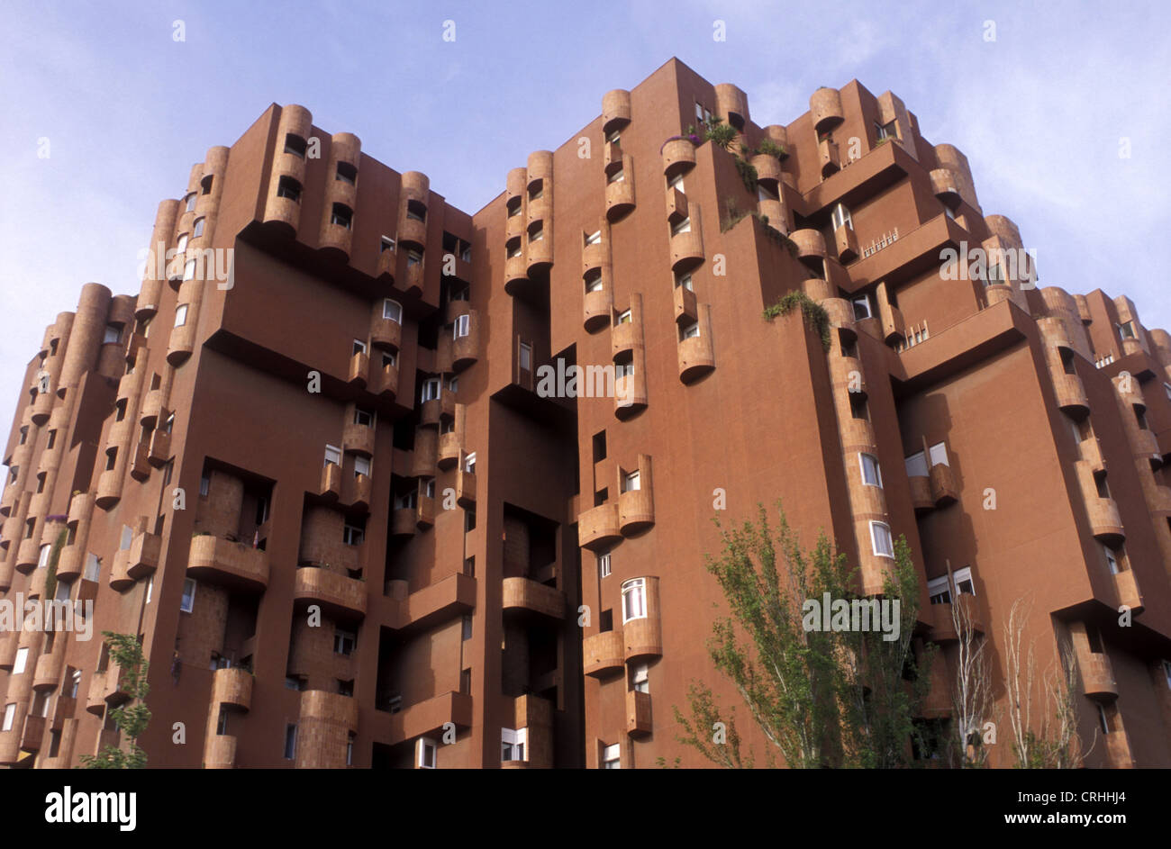 redidental building walden 7 by ricardo bofill spain barcelona stock photo royalty free image. Black Bedroom Furniture Sets. Home Design Ideas